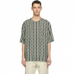 Lemaire Multicolor Silk Bamboo Print T-Shirt M 203 TO123 LF515