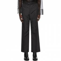 Our Legacy Black High Top Chino Trousers M4204HB
