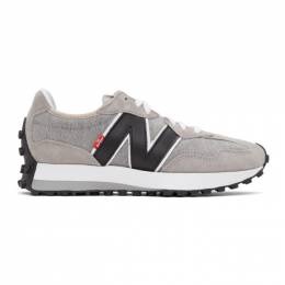 Levi's Grey and White New Balance Edition 327 Sneakers MS327LVB