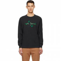 Marc Jacobs Black Heaven by Marc Jacobs Frog Footsteps Long Sleeve T-Shirt P1000120