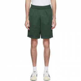 Adidas Originals Green Jonah Hill Edition Basketball Shorts GK1623