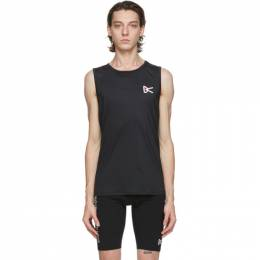 Black Singlet Tank Top AIR - WEAR TANK District Vision
