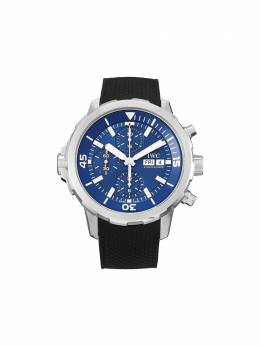 Наручные часы Aquatimer Chronograph Edition 'Expedition Jacques-Yves Cousteau' pre-owned 44 мм 2018-го года IW376805 IWC Schaffh