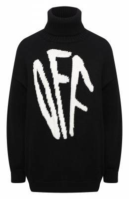Шерстяной свитер Off-White 0WHF008F20KNI0011001