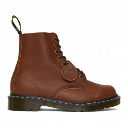 Dr. Martens Brown Horween Made in England 1460 Boots 26053220