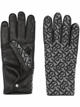 Burberry monogram cashmere-lined gloves 8037814
