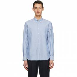 Officine Generale Blue Oxford Antime Shirt PERMSHI031