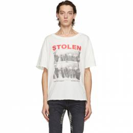 White Vintage Isolation T-Shirt C4-20T001W-E Stolen Girlfriends Club