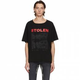 Black Isolation T-Shirt C4-20T001WB-E Stolen Girlfriends Club
