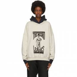 Fear Of God Beige Felted Graphic Sweatshirt FG50-024