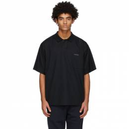 Fear Of God Black Poplin Polo FG50-010