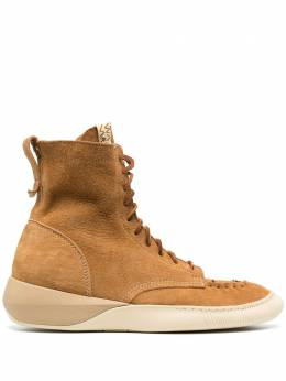 Visvim suede lace-up sneakers 0120202002005