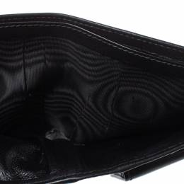 Gucci Black Leather Bifold Wallet 357401