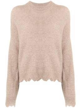 3.1 Phillip Lim CREW NECK SWEATER WITH SCALLOPS E2117782LAL