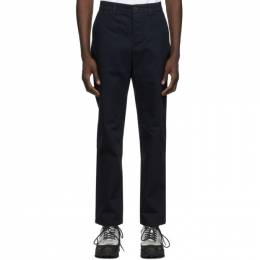 Norse Projects Navy Aros Heavy Trousers N25-0240