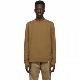 Norse Projects Brown Vagn Classic Sweatshirt N20-0261