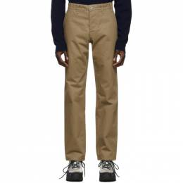 Norse Projects Khaki Heavy Utility Trousers N25-0240