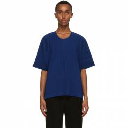 Homme Plisse Issey Miyake Blue Monthly Colors September T-Shirt HP08JK112