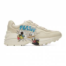 Gucci Off-White Disney Edition Donald Duck Rhyton Sneakers 646509 DRW00