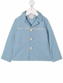 Gucci Kids пиджак в полоску 615958XWA17