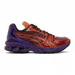 Asics Red and Purple UB1-S Gel-Kayano 14 Sneakers 1201A189.600