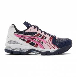 Asics Navy and Pink UB1-S Gel-Kayano 14 Sneakers 1202a127.400