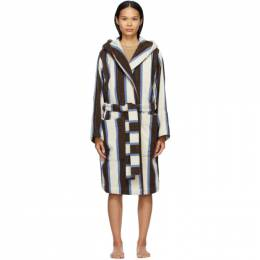 Multicolor Hooded Bathrobe BT-CW Tekla