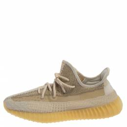 Adidas Yeezy Boost 350 V2 Cotton Knit Abez Non-Reflective Sneakers Size 44 2/3 370960