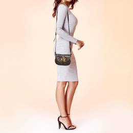 Marc by Marc Jacobs Brown Leather Petal to the Metal Crossbody Bag 371749