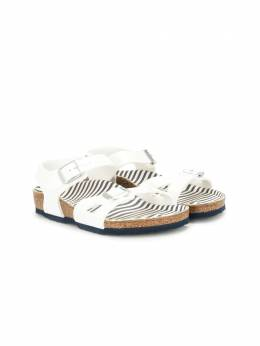Birkenstock сандалии Nautical Stripes с пряжками 1012717