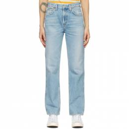 Citizens of Humanity Blue Daphne High-Rise Stovepipe Jeans 1903-769