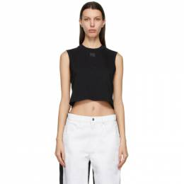 T by Alexander Wang Black Foundation Muscle Tank Top 4CC2201153