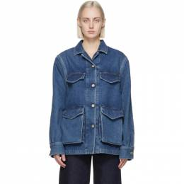 Toteme Blue Denim Army Jacket 211-190-740