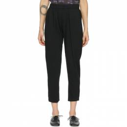 Raquel Allegra Black Easy Lounge Pants Y07-1763