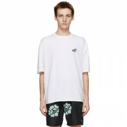 Saturdays Nyc White Rose T-Shirt M12129PT02