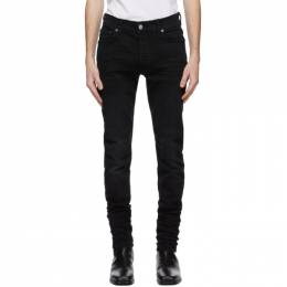 Amiri Black Stack Jeans MDS001-003