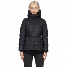 Canada Goose Black Down Abbott Jacket 2220L