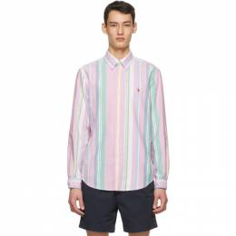 Polo Ralph Lauren Multicolor Striped Oxford Shirt 710823143004