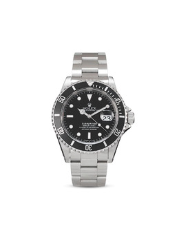 Наручные часы Submariner Date pre-owned 40 мм 1997-го года 16610V26158 Rolex