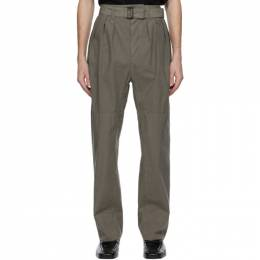 Lemaire Grey 4 Pleats Trousers X 211 PA153 LF288