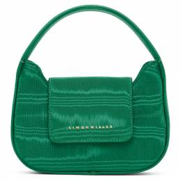 Simon Miller Green Moire Mini Retro Bag S835-9051-55534