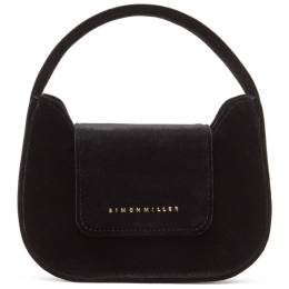 Simon Miller Black Velvet Mini Retro Bag S835-9047-90303