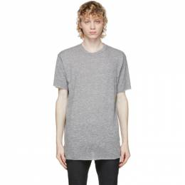 John Elliott Grey Anti-Expo T-Shirt A120A0121A