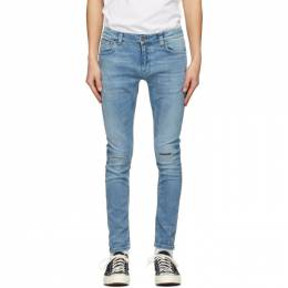 Nudie Jeans Blue Tight Terry Jeans 113520