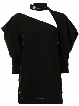 Proenza Schouler cut-out puff-sleeve top R2124010BY116