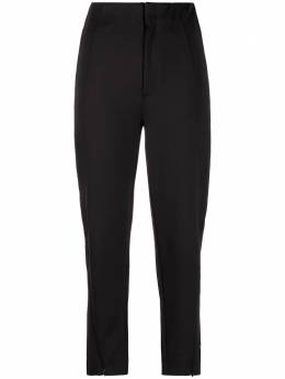 Y-3 high-rise straight-leg cropped trousers GT5283