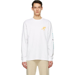 Acne Studios White Dizonord Edition Cold Front Long Sleeve T-Shirt BL0250-