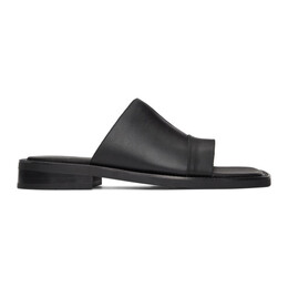 Black Leather Dresden Sandals aaa262m Andersson Bell