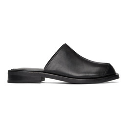 Black Leather Levuen Mules aaa261m Andersson Bell
