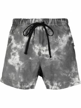 Thom Krom marble-effect swimming shorts SWIM11